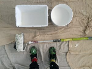 Lots of White paint