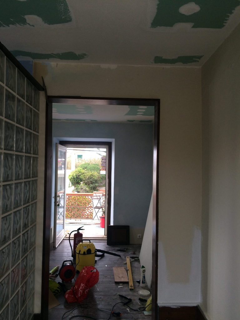 refurb new ceiling