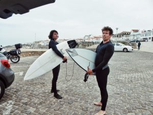 Two Friends go for a Surf – One Questionable Ocean Entry