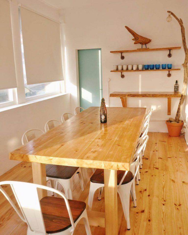 new dining room surfiberia surf lodge