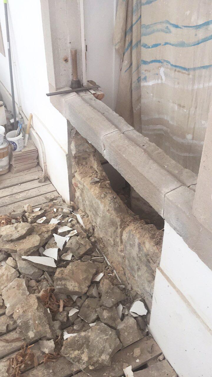 making a doorway