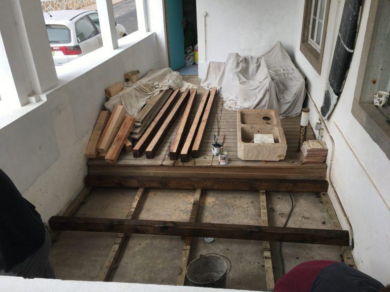dining room renovation prep