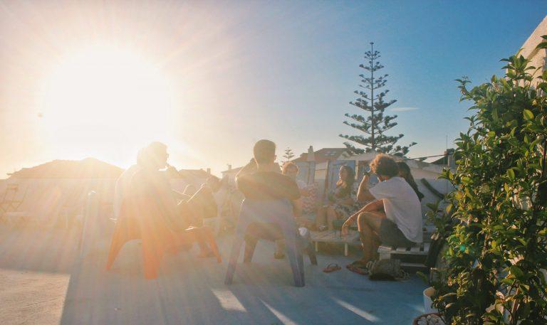 roof terrace party surfiberia