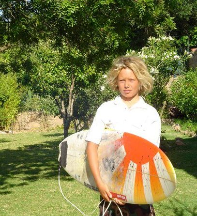 young luis eyre surfer