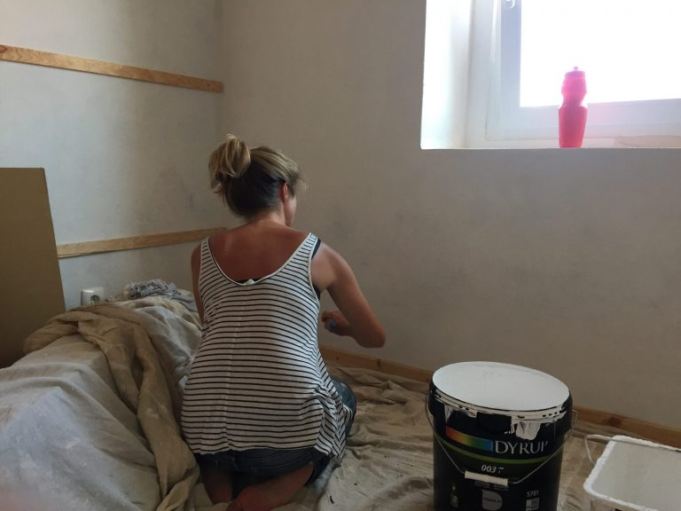 fistral renovation painting