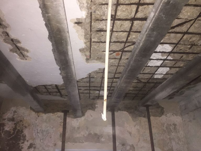 fistral ceiling renovation