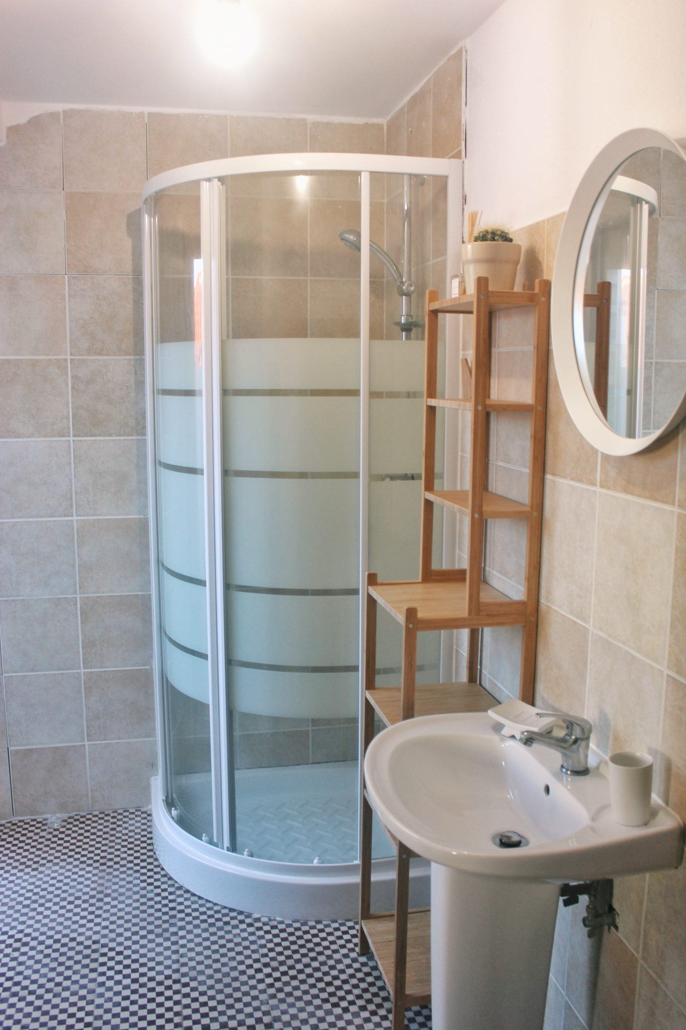 fistral renovation shower